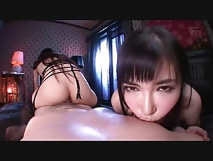 Picture Busty Jap Milf Sharing A Cock