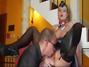 Picture Fucking The Naughty Flight Attendant