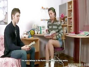 Teen Anal Study Break...