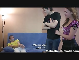 Picture Make Him Cuckold - Dumb Cheater Punished In...