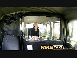 Sexy Business Woman Falls...