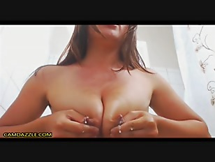 Hot Young Mom In Shower Show