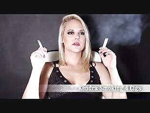 Smoking abbie cat