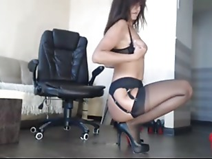 HD Babe Cums At Work   Watch Part2 On CUMCAM,COM