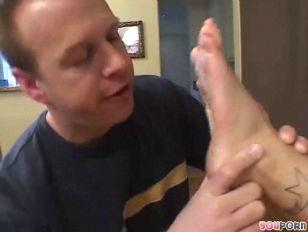 Cum On My Feet...