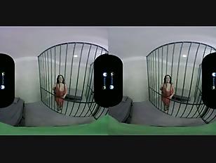 Badoink vr prison break with angela white vr porn