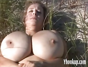 Beach And Boobs Together...