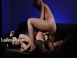 Picture Horny Brunette Sucking Cock Of Rubber