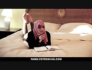 Thick Muslim Teen Stepdaughter Fucked By American Stepdad