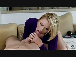 Sexy Blonde Babe Krissy Lynn Gets It In Her Ass