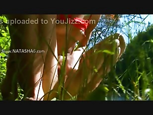 Picture Petite Russian Girl Peeing In A Forest
