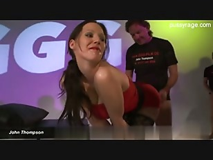 Brunette Babe Cock Suck...