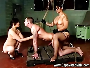 Submissive Being Spitroated By...