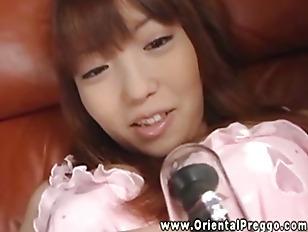 Oriental Pregnant Gets A...
