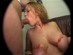 Spank her bare bottom wife