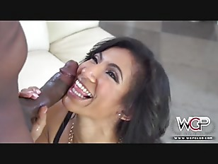 brunette young babe drilled by bbc