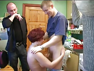 Mature Russian Mom DPed...