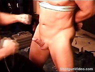 Picture BDSM Kiss And Punch Hard Bodied Stud And Bal...