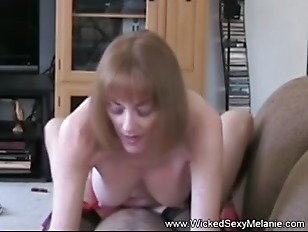 Mom Riding Sons Cock...