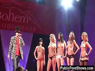 Naughty Sensational Strippers Posing...