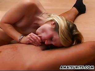 Hot Blonde Amateur Girlfriend...