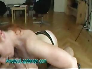 Czech redhead michaela lapdances and masturbates 2