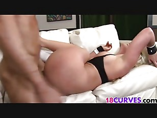 Picture Curvy Blonde Babe Gets Fucked