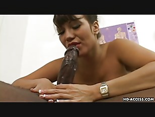 Ava Devine rides a big black dick