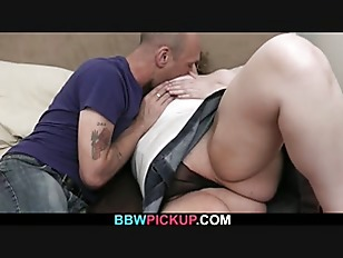 Picture Curly Fatty Rides Stranger's Cock