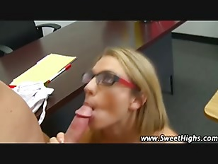 Picture Uniformed High School Slut Sucks Classroom C...
