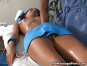 Picture Massage With Elements Of Squirt And Blowjob