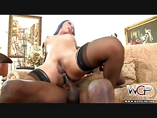 Black chick Creampie play...