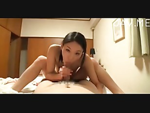 Young jap wife sucking...