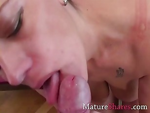 Picture Busty Amateur Housewife Mouth Fucking