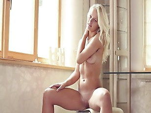 Hungry Blonde Girl Teasing...