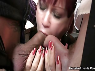 Office Lady Pleases Two...