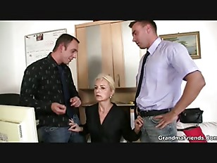 Picture Job Interview Leads To Threesome