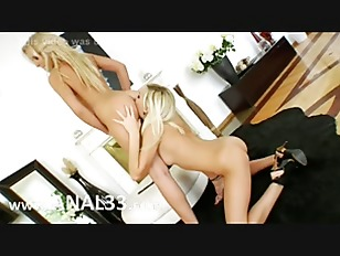 Two Blondes Sucking Huge...