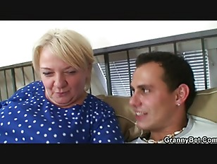 Picture Old Granny Pleases An Young Guy