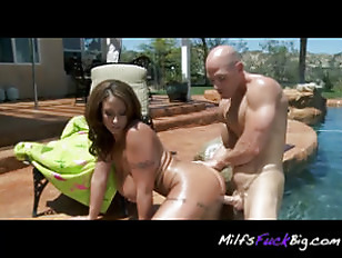 Picture Poolside Pounding