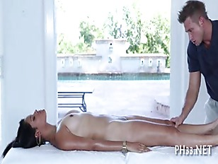 Steamy Hot Oil Massage...