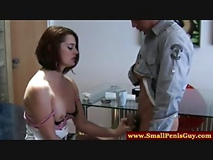 Picture Dom Mistress Makes Small Cock Squirt