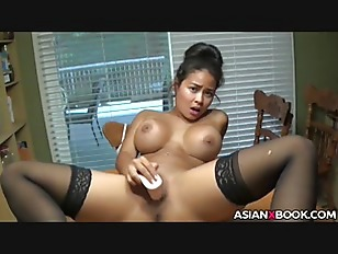 Horny Asian Toys Her...