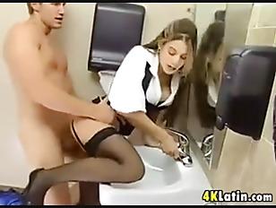 Wasroom sex