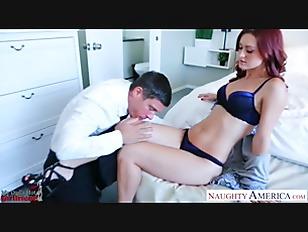 Sexy girlfriend in high heels Karlie Montana fucking