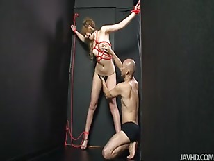 Picture Hatsuka Kobayashi Tied Up And Teased Until S...