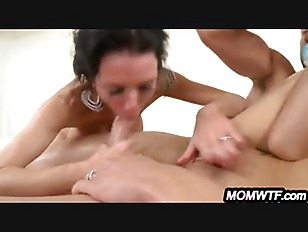 Picture MILF Mom Caught Sucking Step-Daughter's...