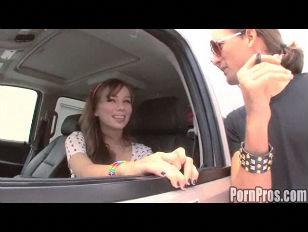 Slutty Student Driver Blowjob...