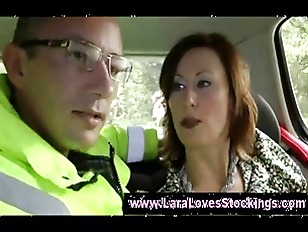 Picture Lara Gets Pulled Over By Cop And Fingered Ha...