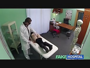 Fakehospital petite emo chick makes doctor blow quick 4